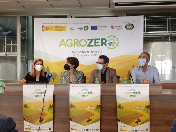 PRESENTACION DE AGROZERO, TRANSICION ECOLOGICA EN EL SECTOR AGROALIMENTARIO