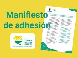 ADHESION Y APOYO A LA ESTRATEGIA DE EDUCACIÓN AMBIENTAL DE CASTILLA LA MANCHA